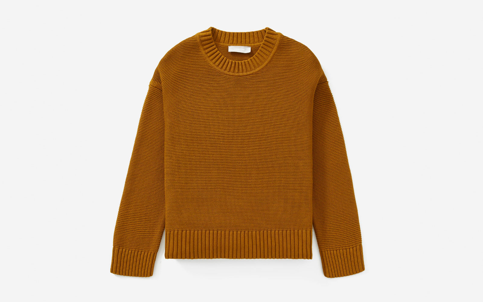 Brown/Tan Crewneck Sweater