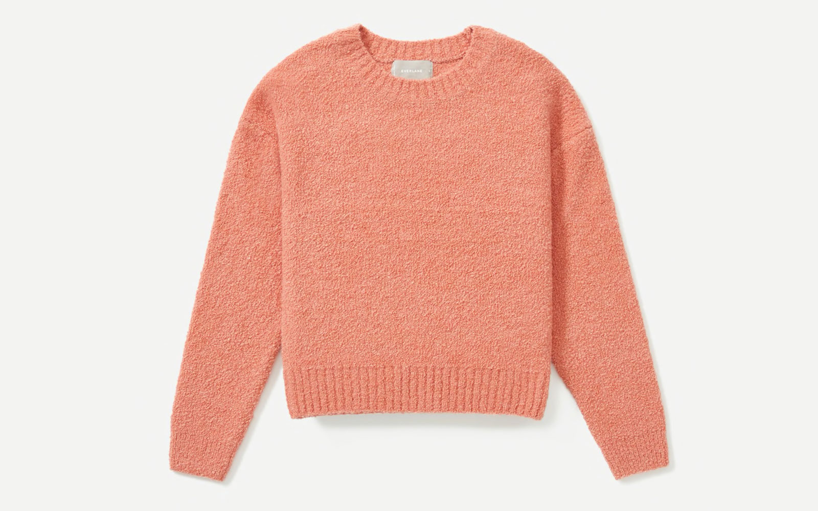Pink/Coral Crewneck Sweater