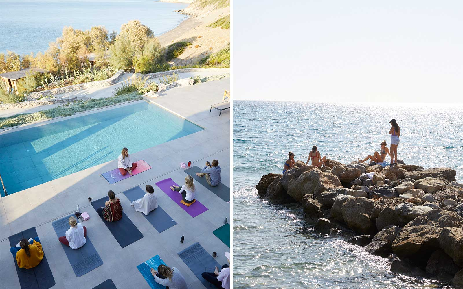 Yoga retreat in Greece