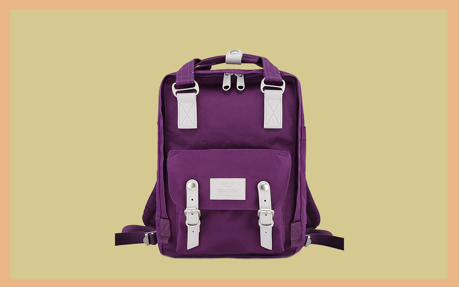 Himawari School Waterproof Backpack 14.9 Tout