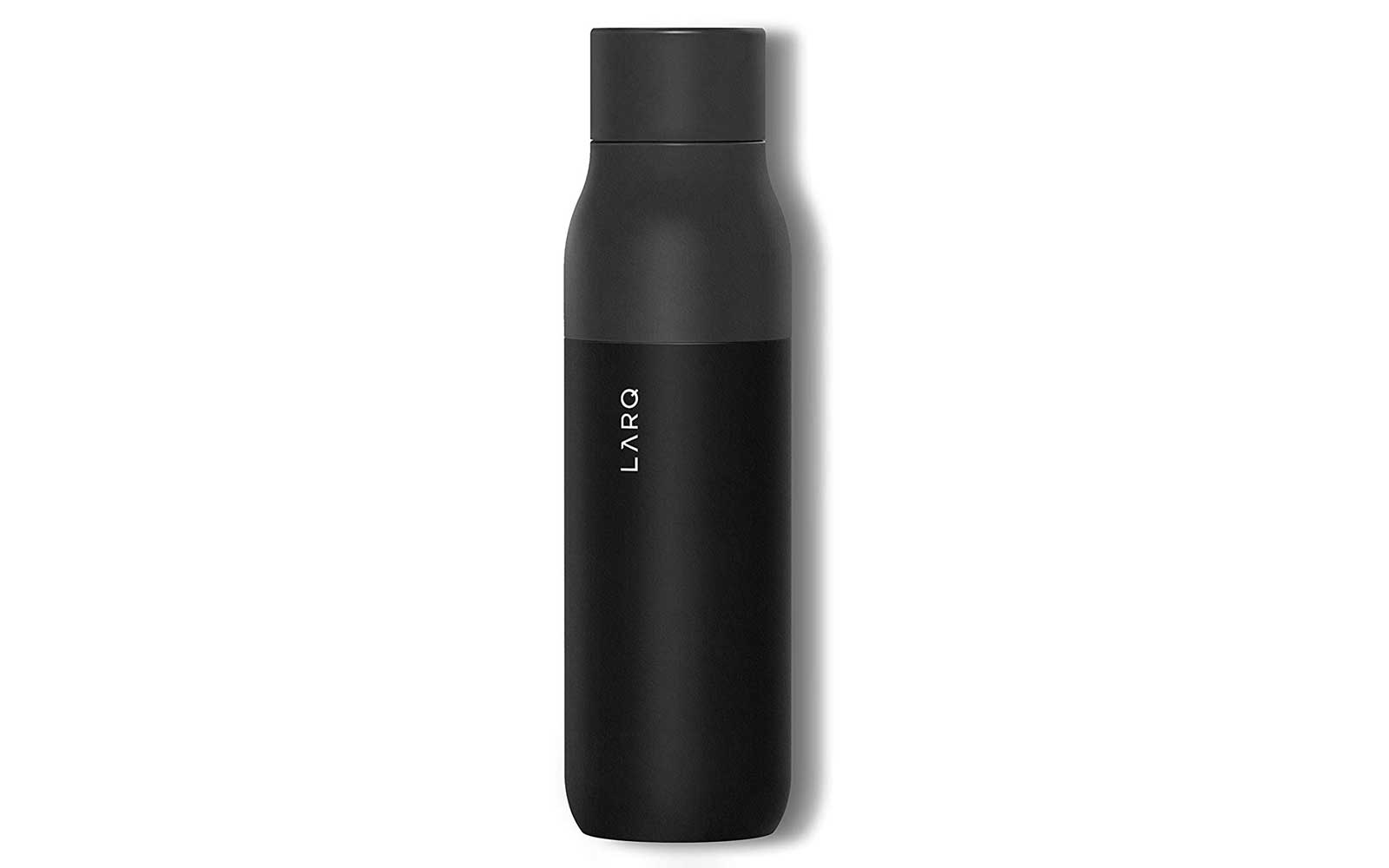 Black Reusable Water Bottle
