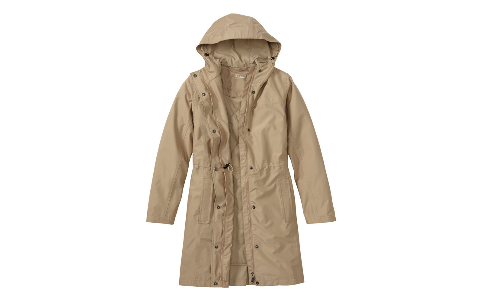 L.L. Bean H2OFF PrimaLoft-Lined Raincoat