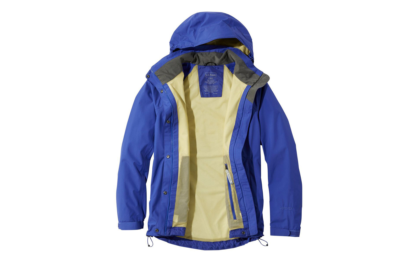 Most Durable Option: L.L. Bean Stowaway Rain Jacket