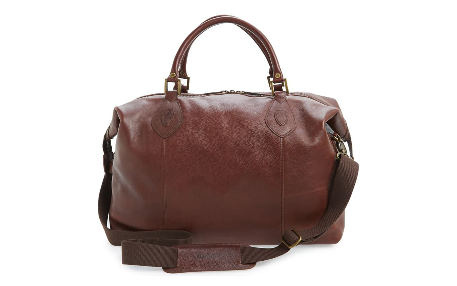 Barbour Leather Travel Bag
