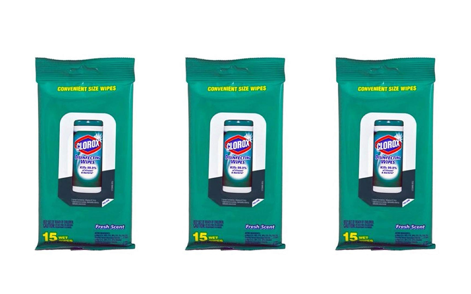 Clorox Travel Size Disinfectant Wipes