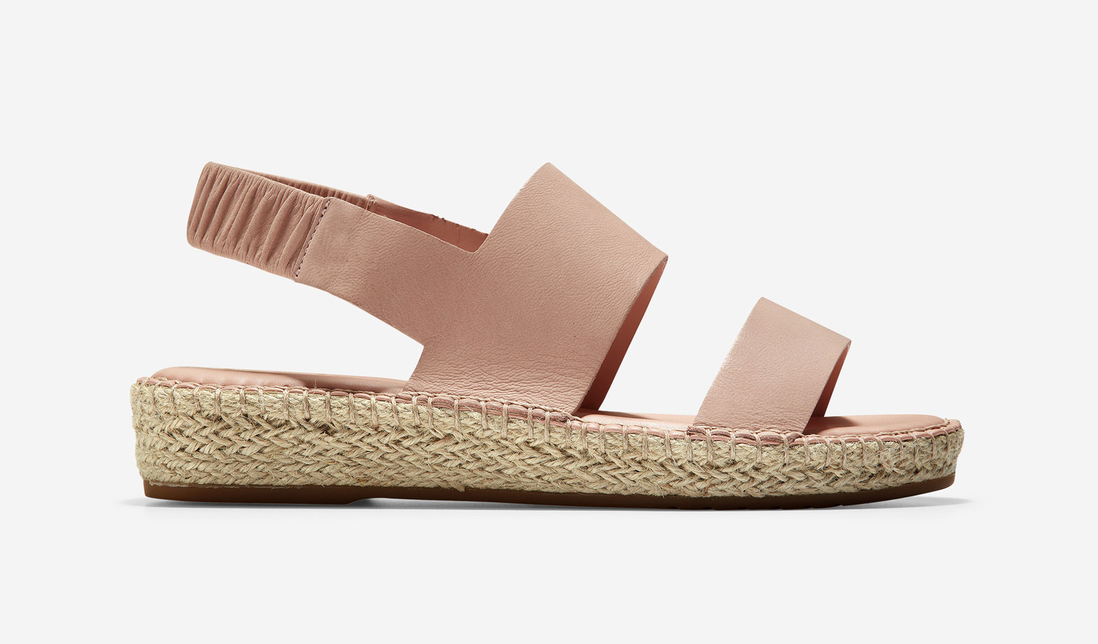 Rose/Nude Espadrille Sandals