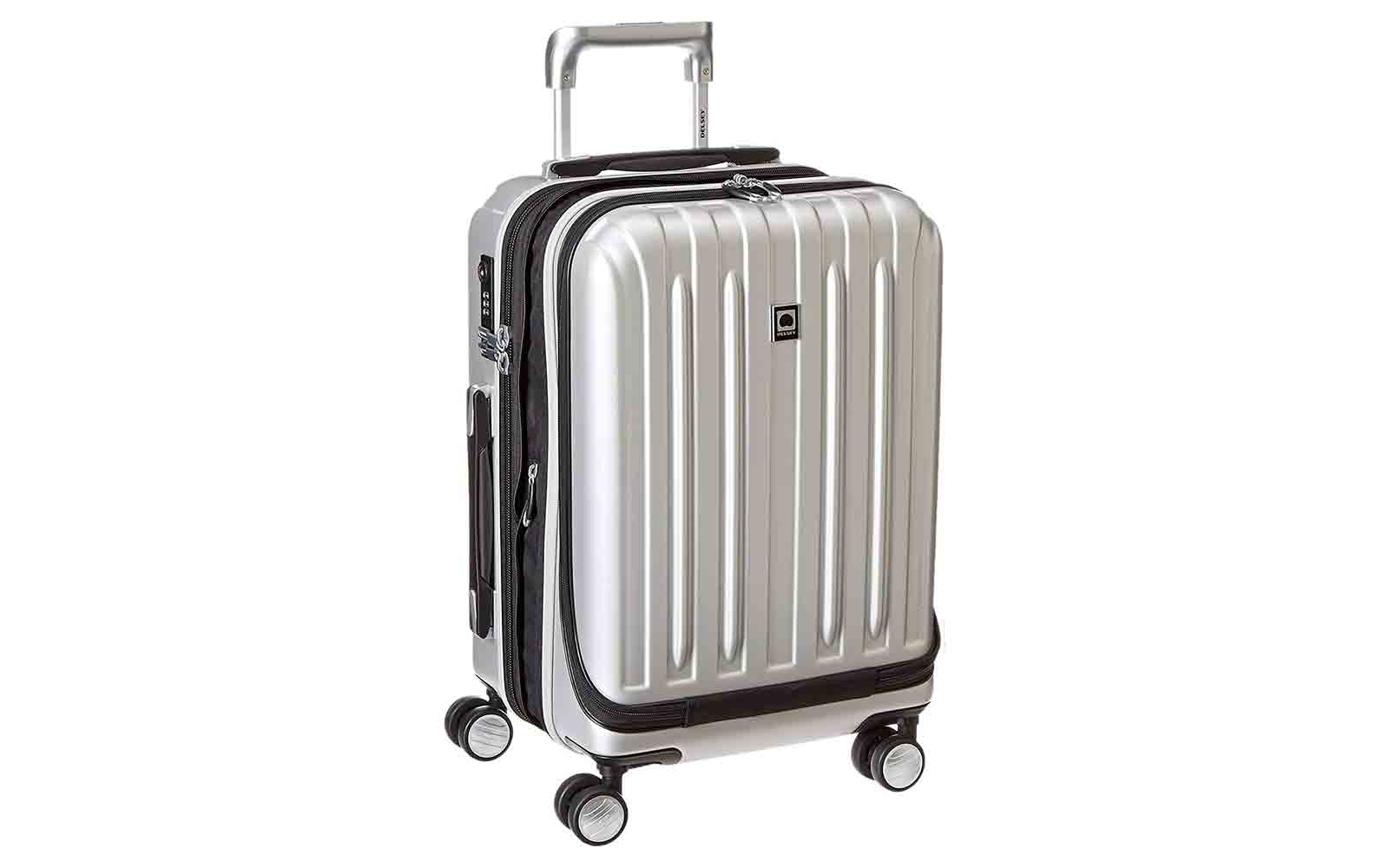 DELSEY Paris Luggage International Carry-on, Silver