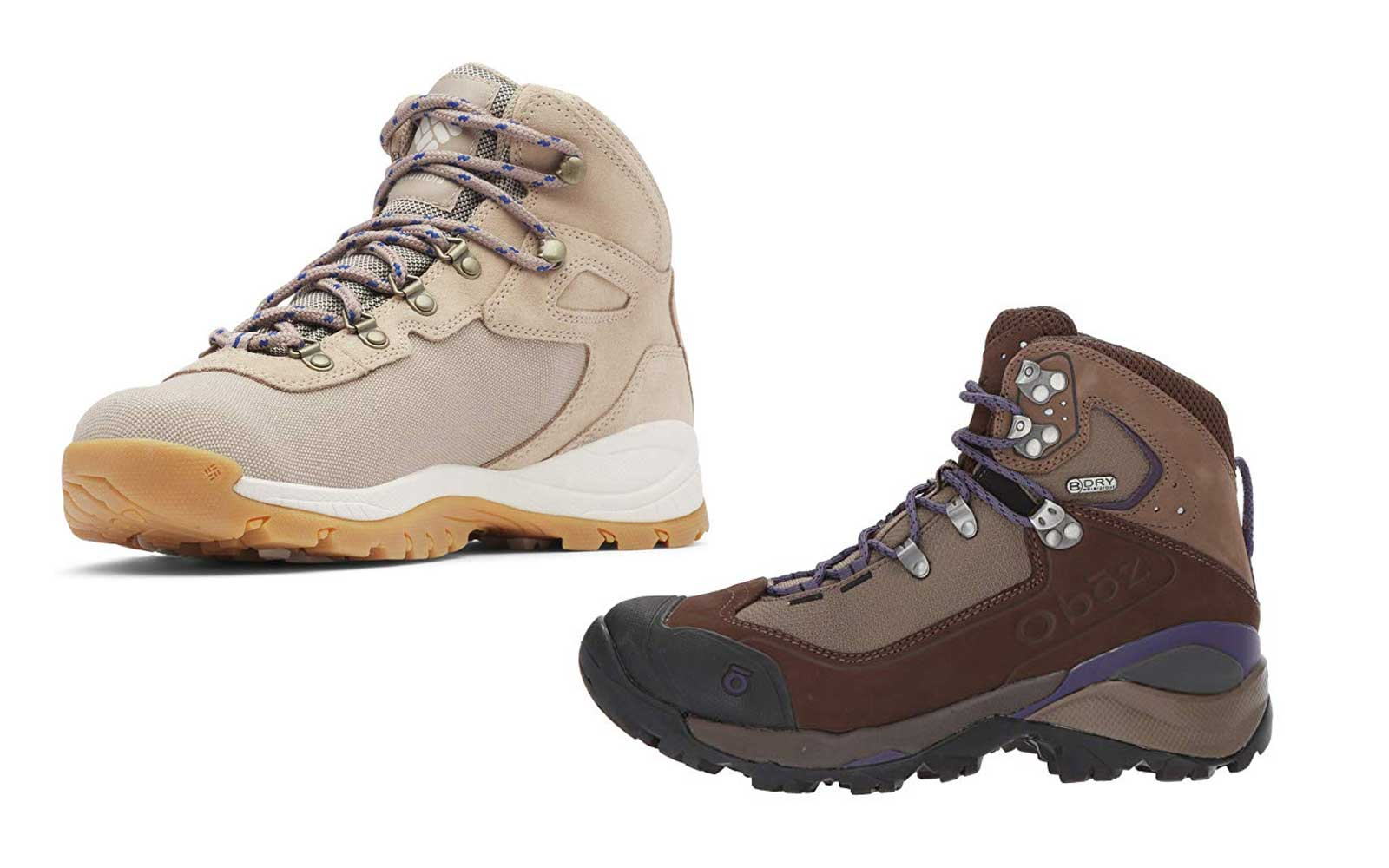 Hiking boots - Products to pack for an Alaskan cruise