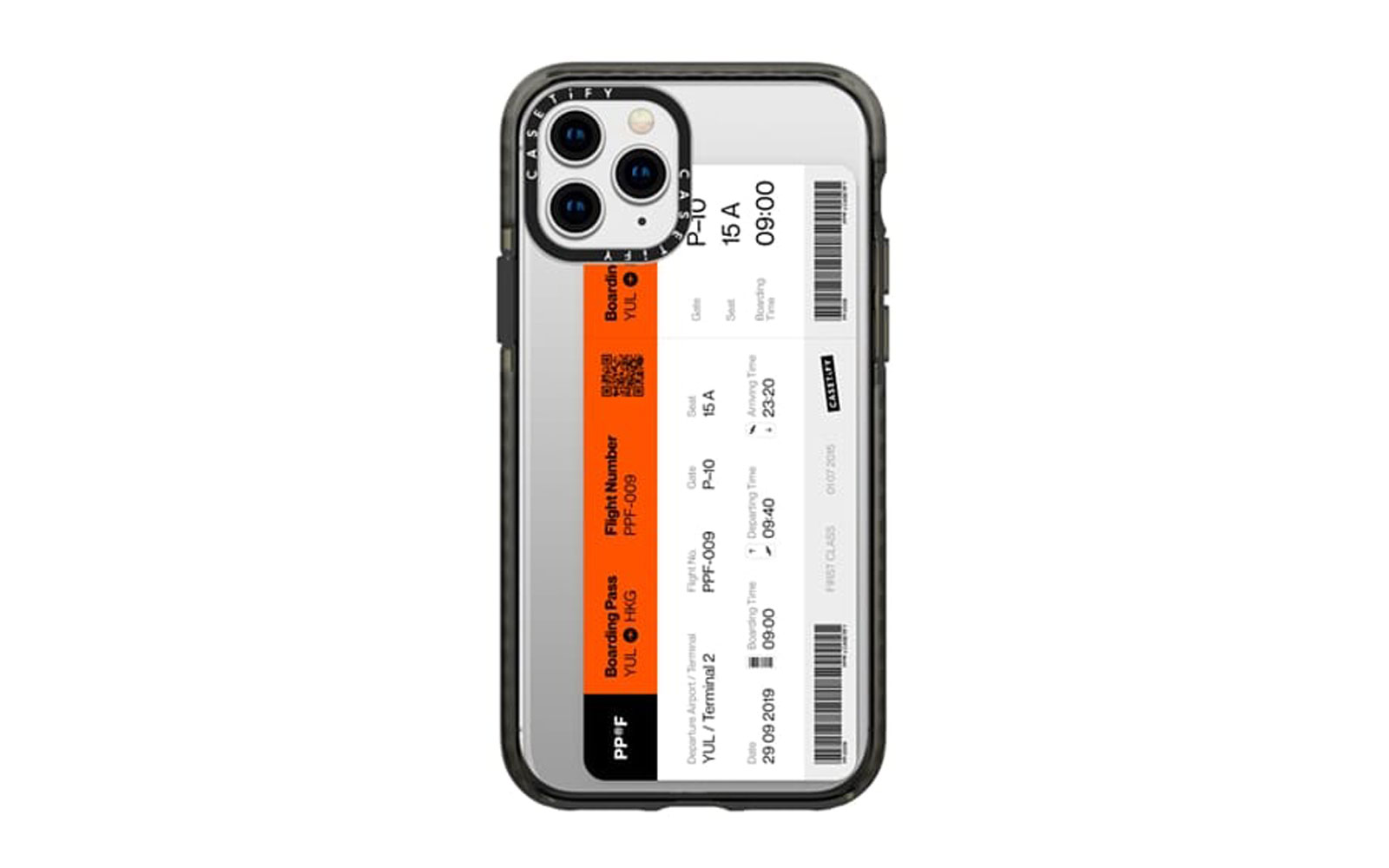 Red and White Ticket Phone Case