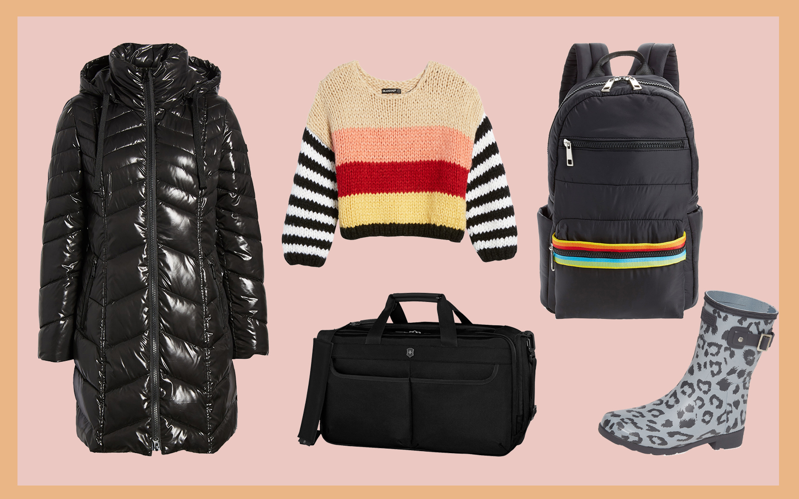 Nordstrom Travel Guide Collage Tout