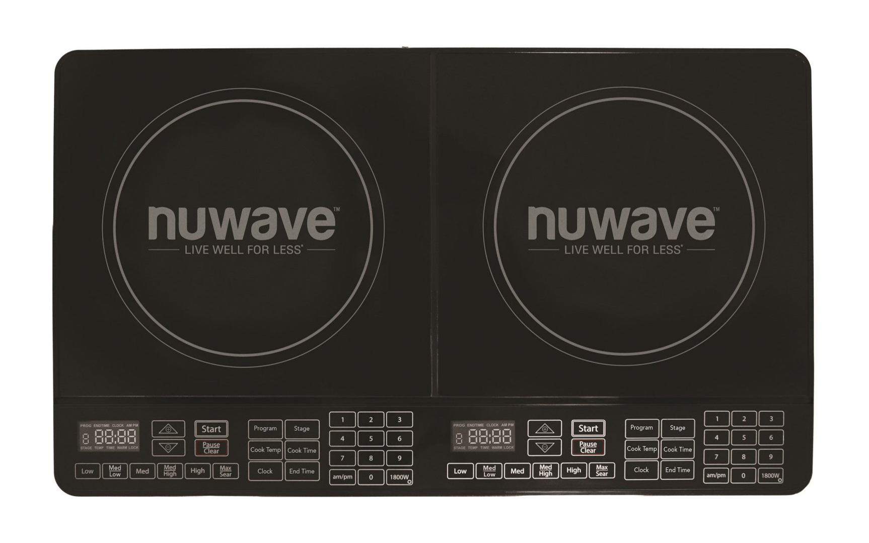 NuWave Double Precision Induction Cooktop Burner