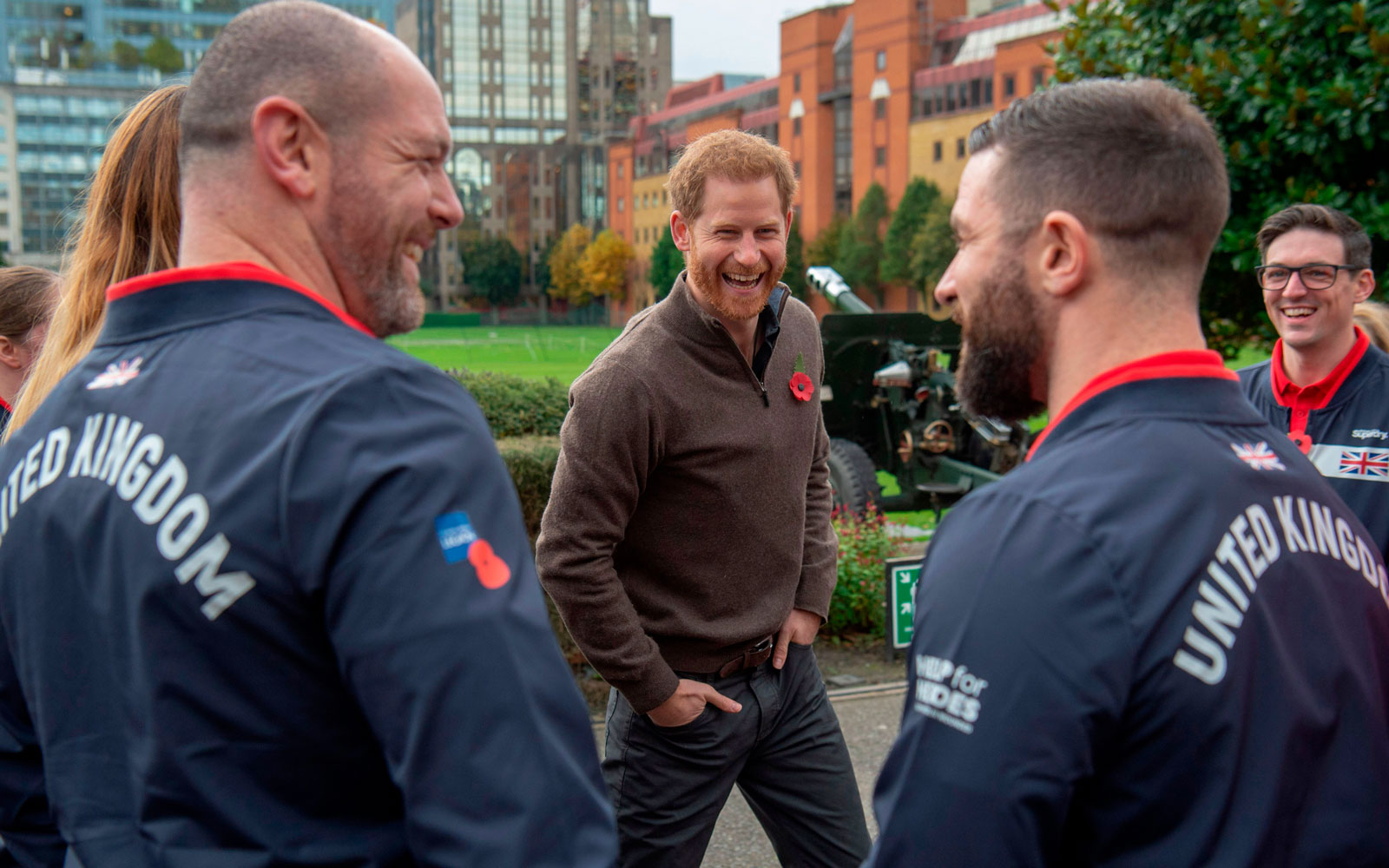 Prince Harry attends the launch of Team UK, selected for the 'Invictus Games The Hague 2020' at Honourable Artillery Company in east London on October 29, 2019.