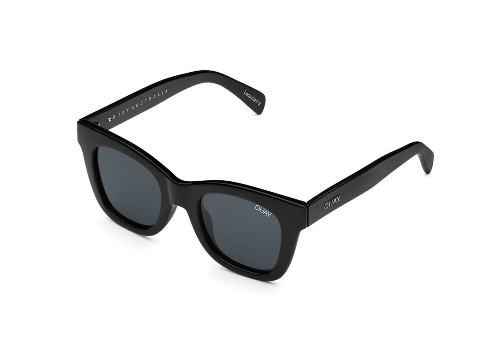 Black chunky sunglasses