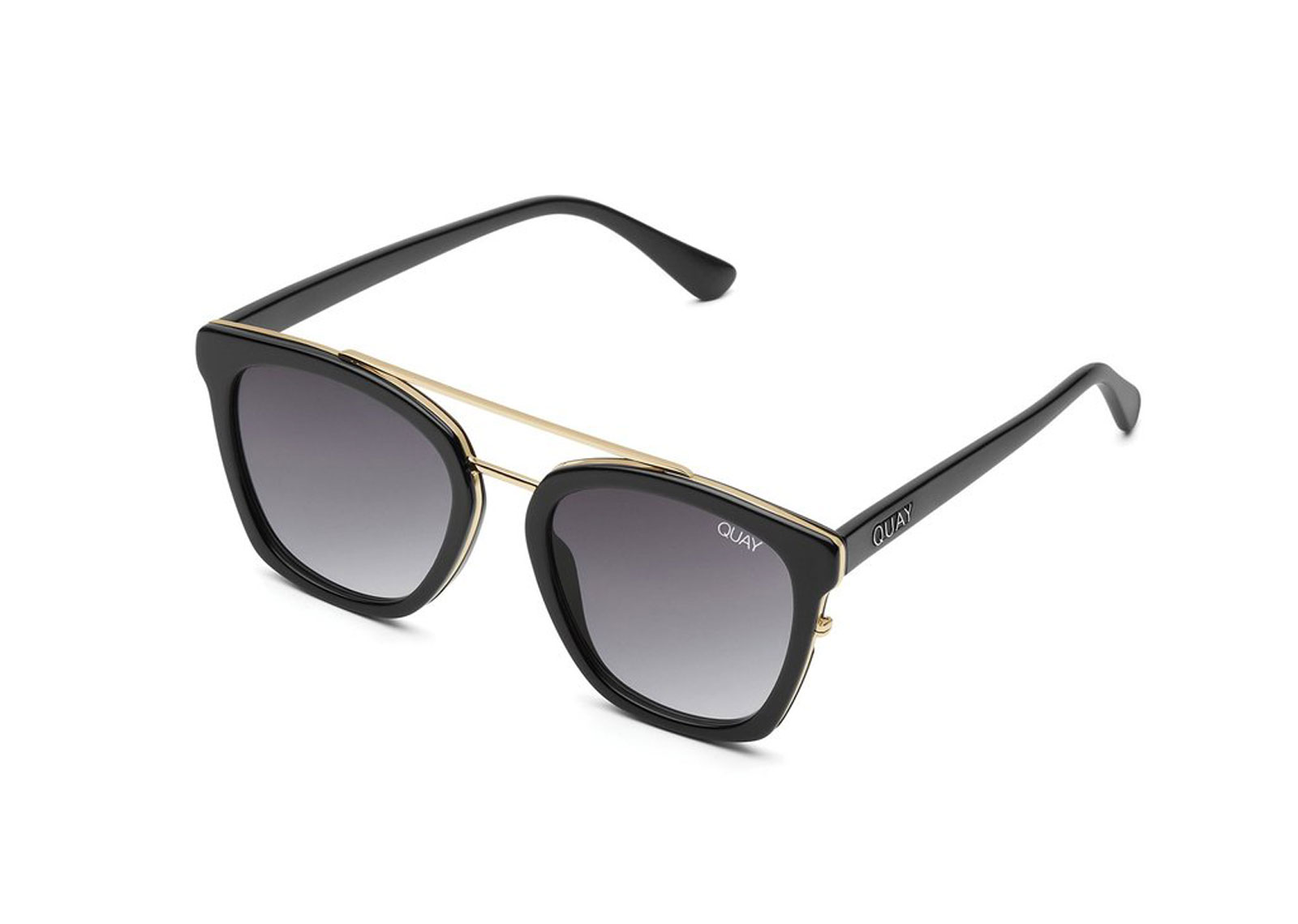 Black and gold sunglasses