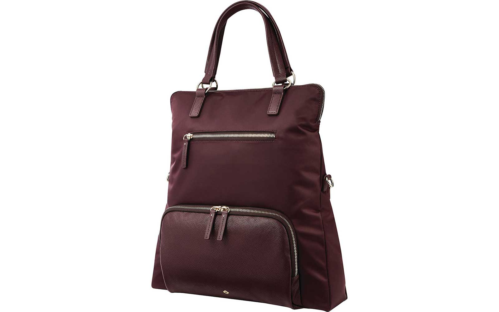 Dark Red Tote/Backpack