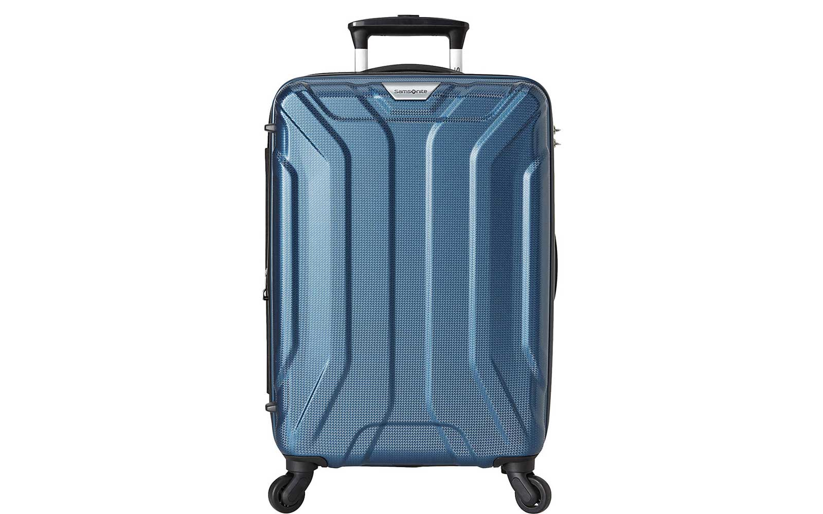 Light Blue Hardside Carry-on Suitcase