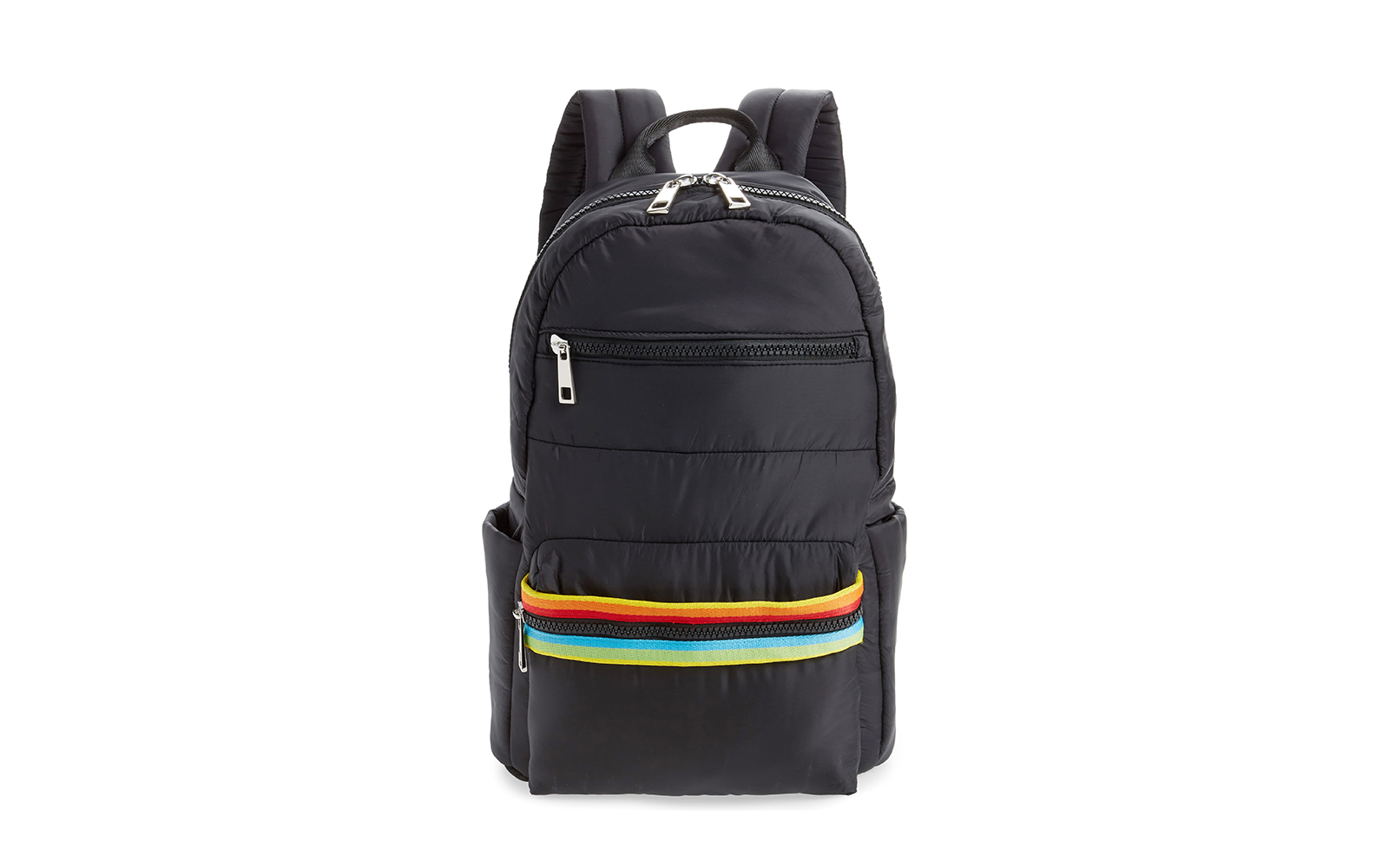 Sondra Roberts Rainbow Web Backpack