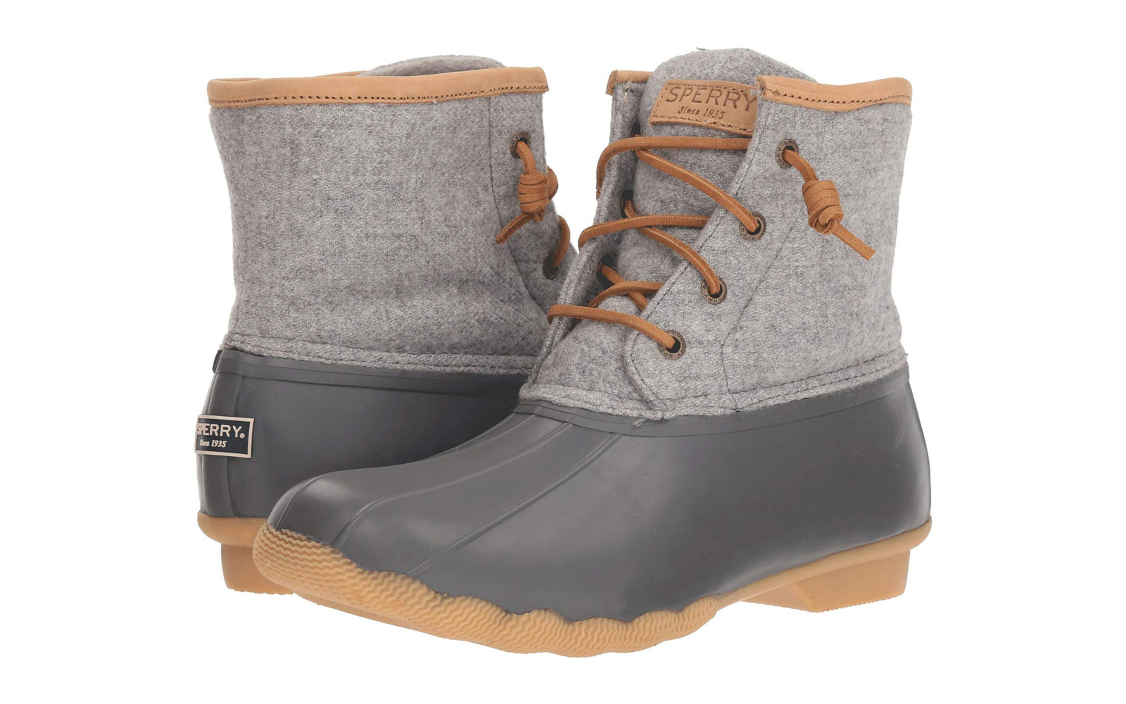 Women's Wool and Rubber Duck Boots