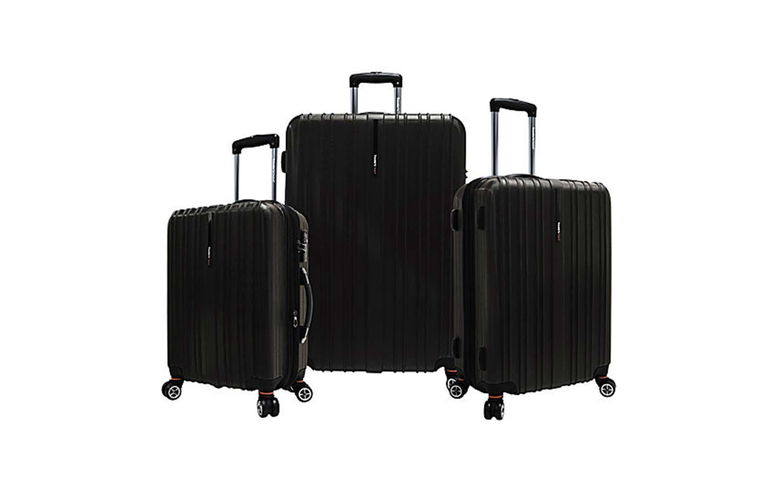 Traveler's Choice Tasmania 3-piece Expandable Hardside Spinner Luggage Set