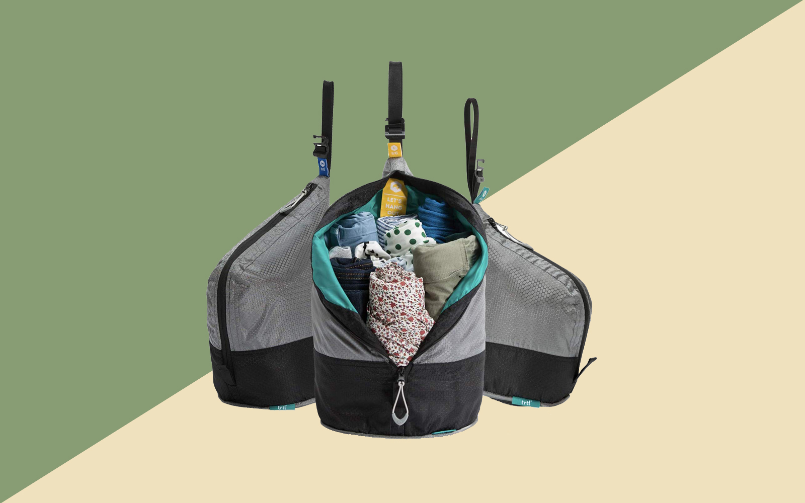 Packing Pods Hang Cube, Carry and Pack Tout