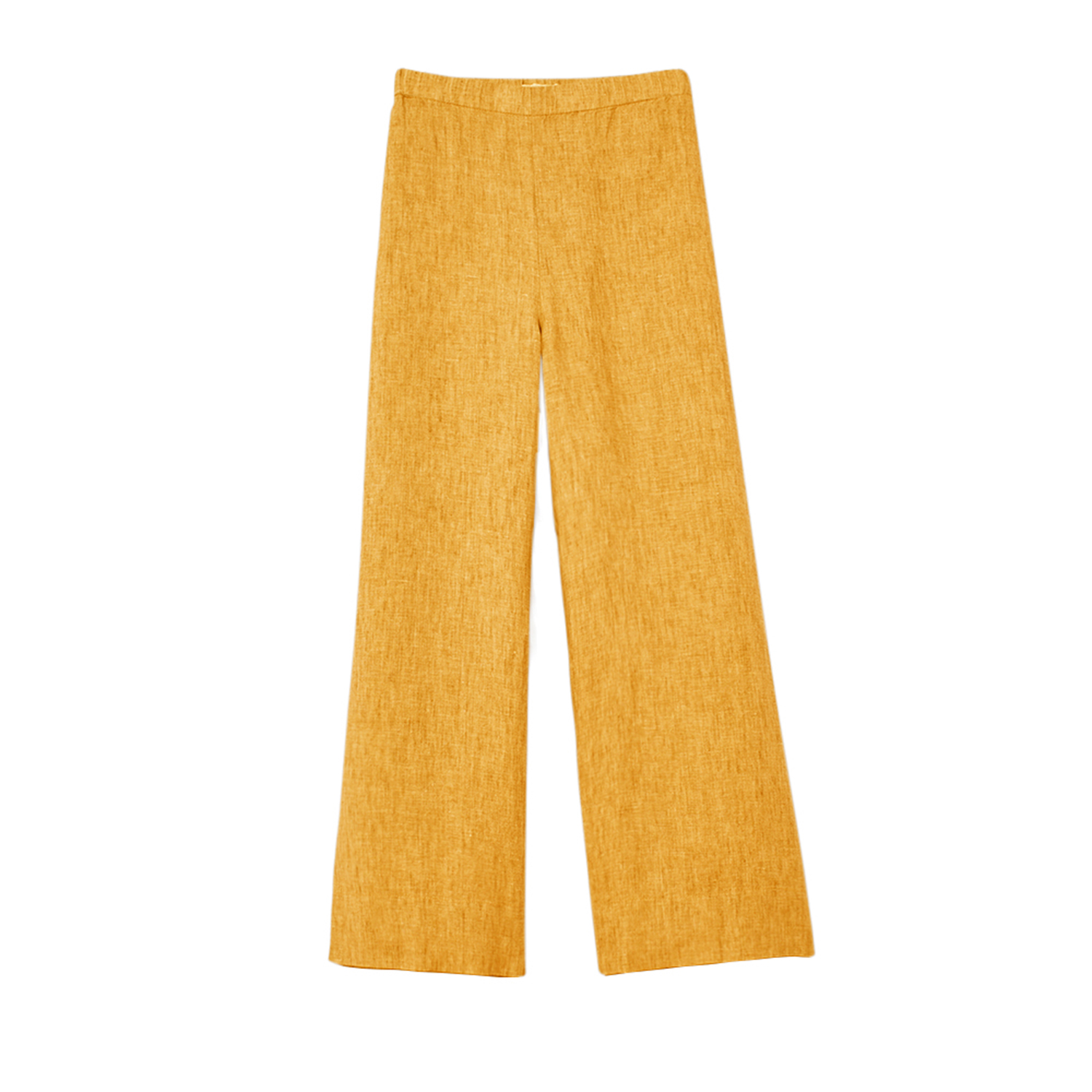 Washed Organic Linen Delave Shell Cinnamon