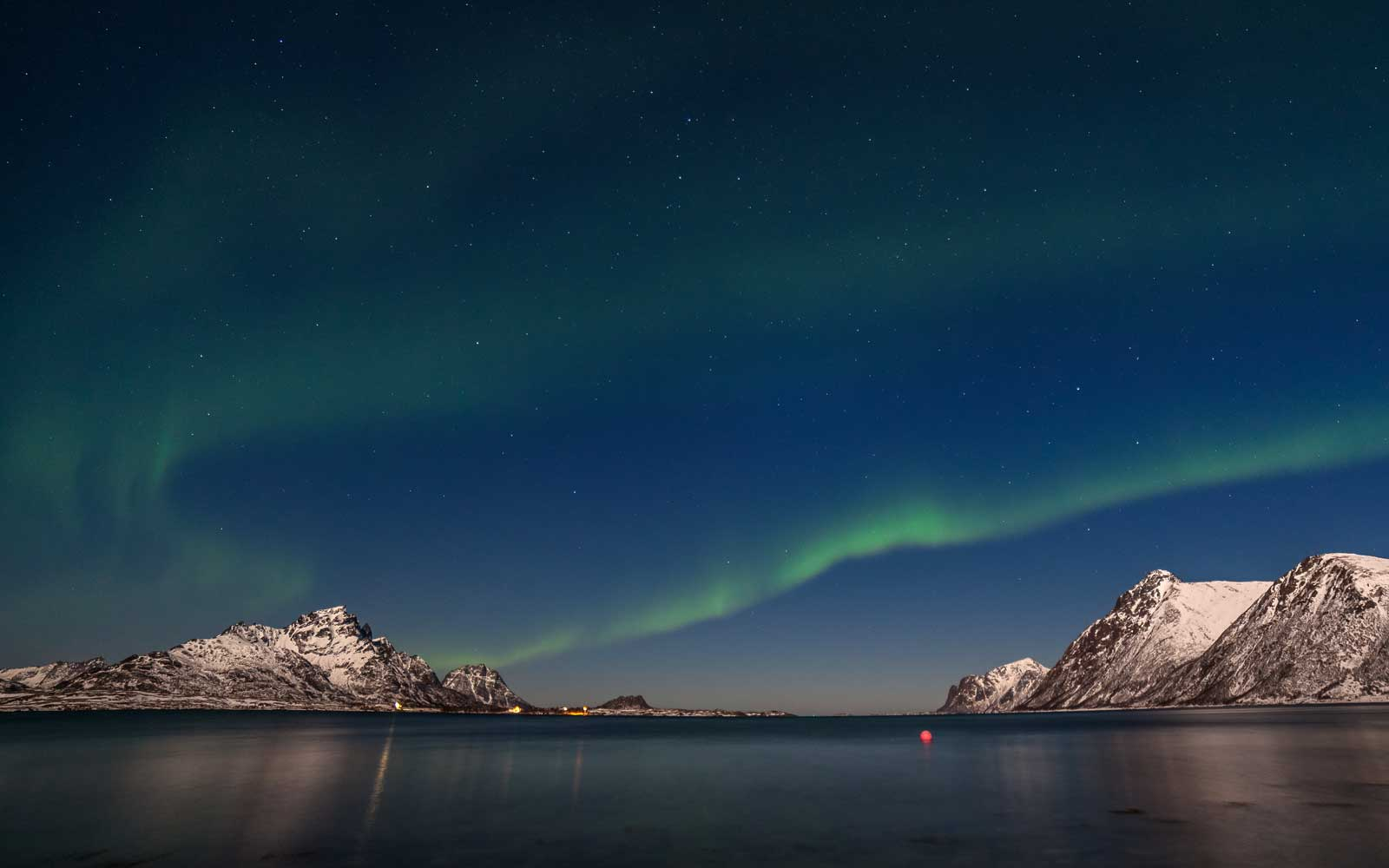 Northern Lights in Lofoten Islands, Norway