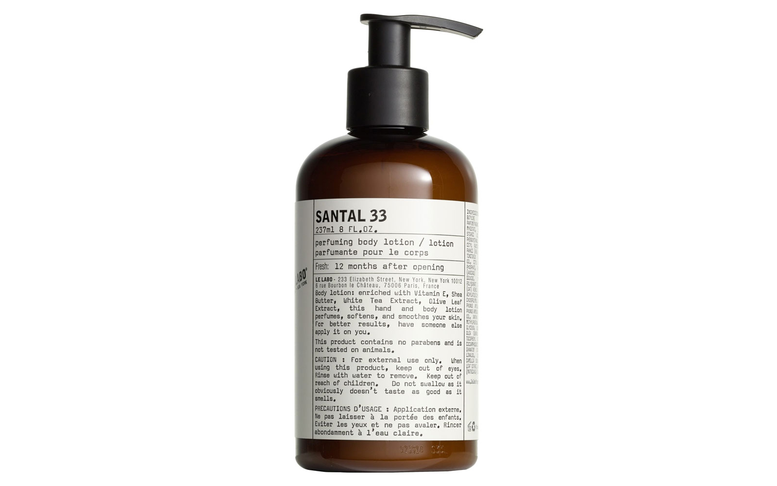 Le Labo 'Santal 33' Hand and Body Lotion