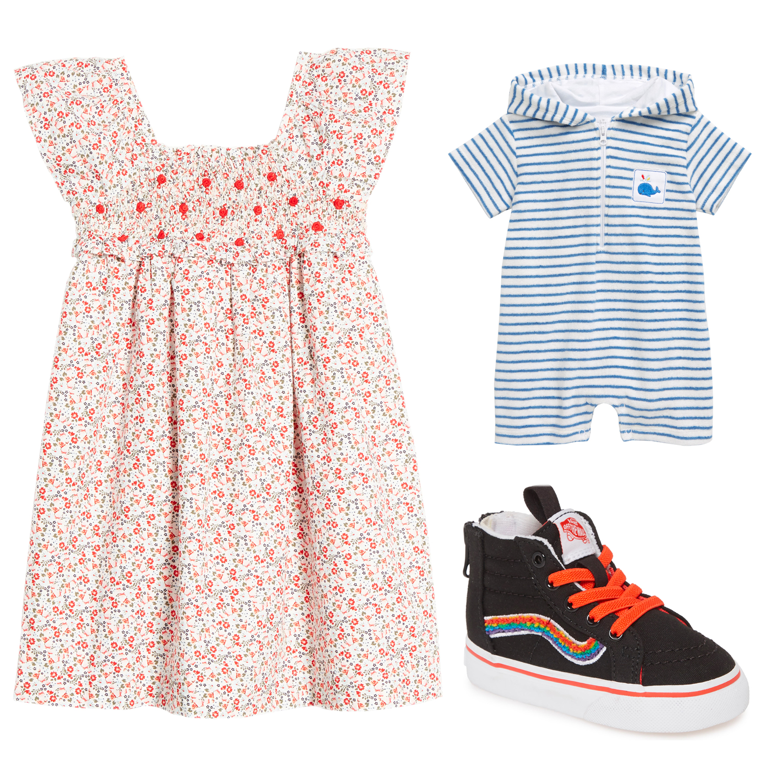Nordstrom Kids Clothing Collage