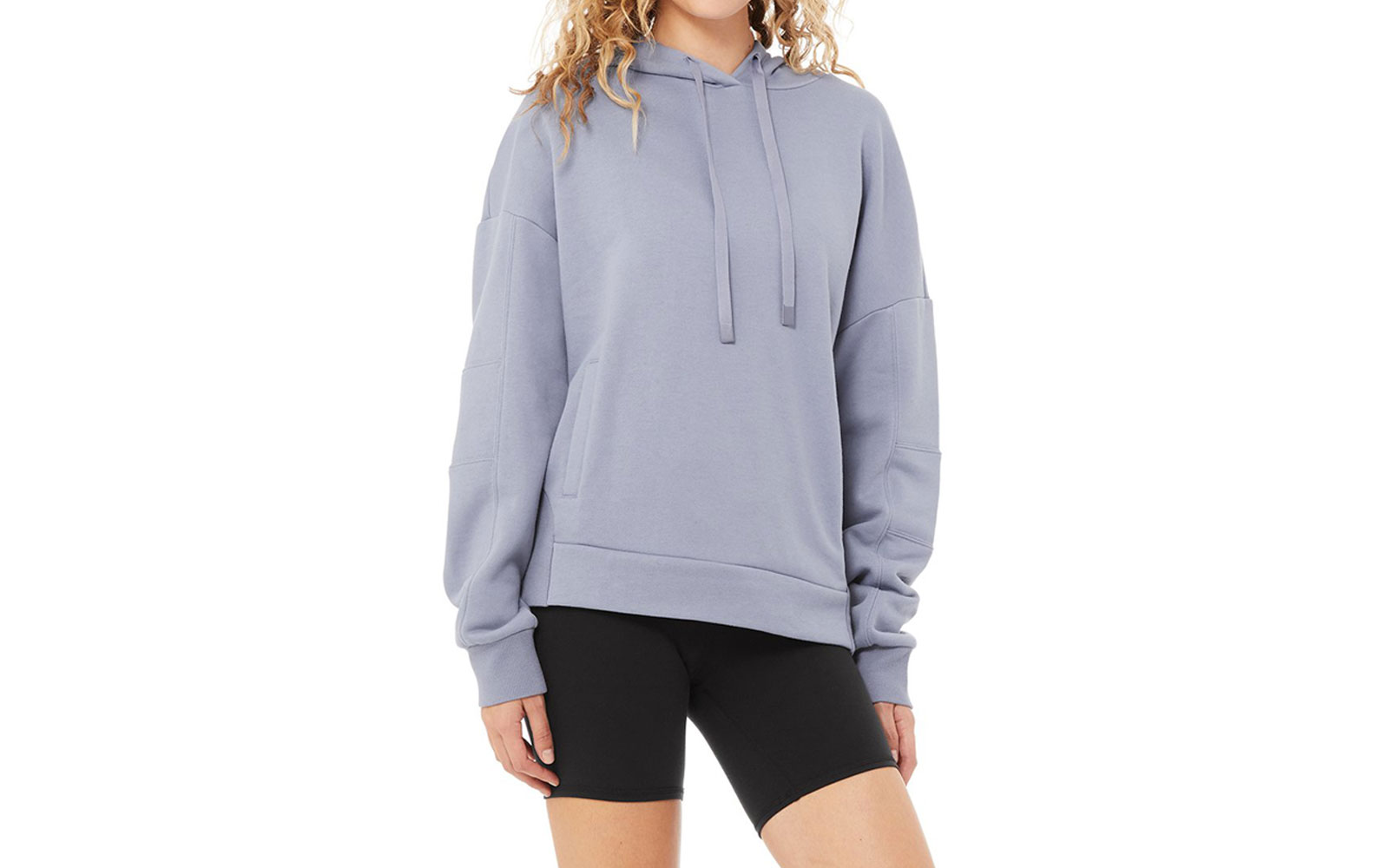 Light blue women's sweatshirt