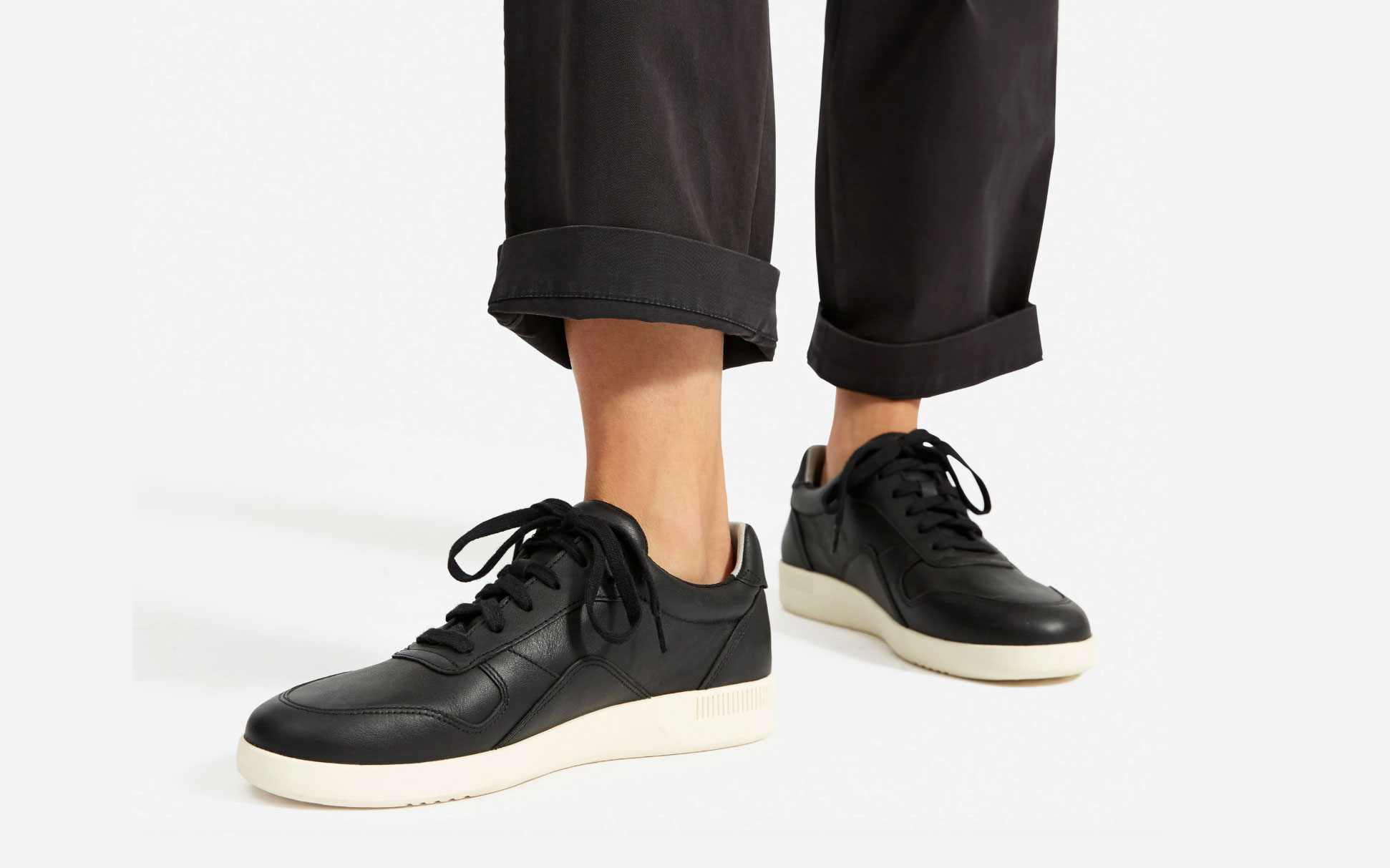 Everlane Court Sneaker Black