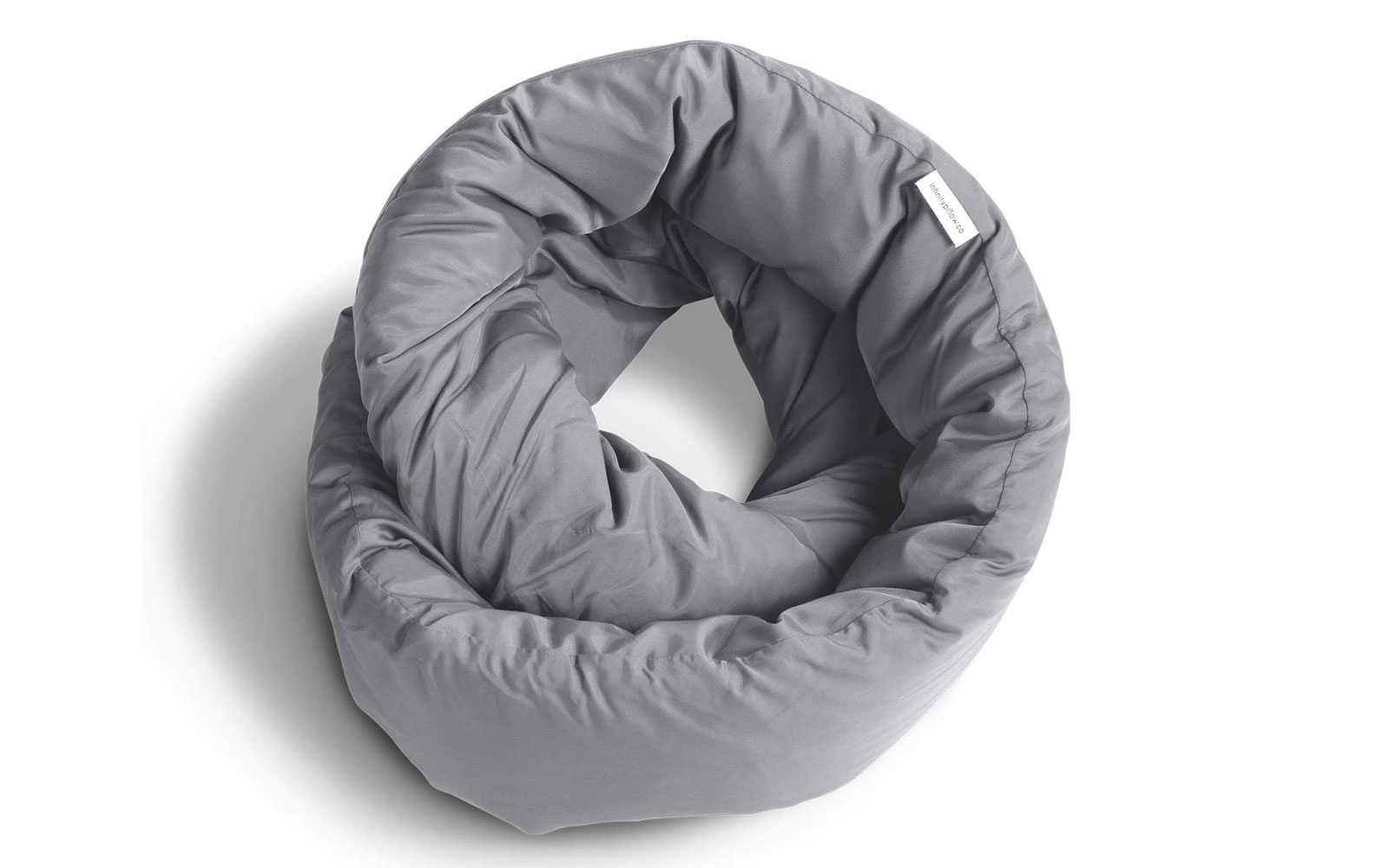 Grey travel neck pillow