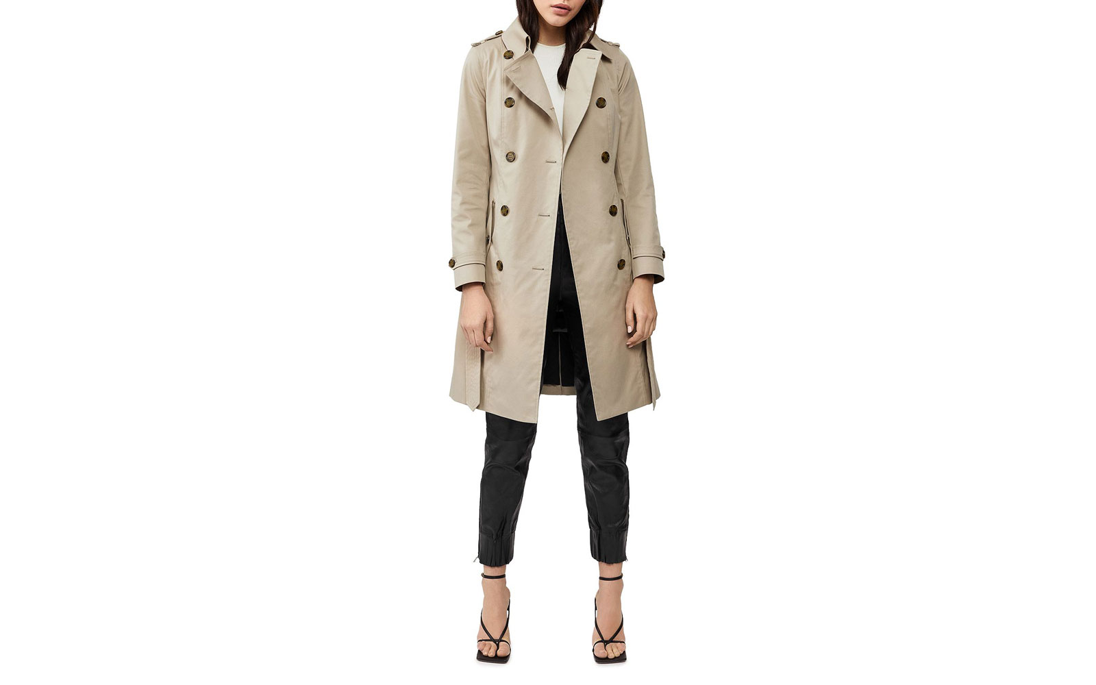 Mackage Odel Classic Trench Coat & Down Vest