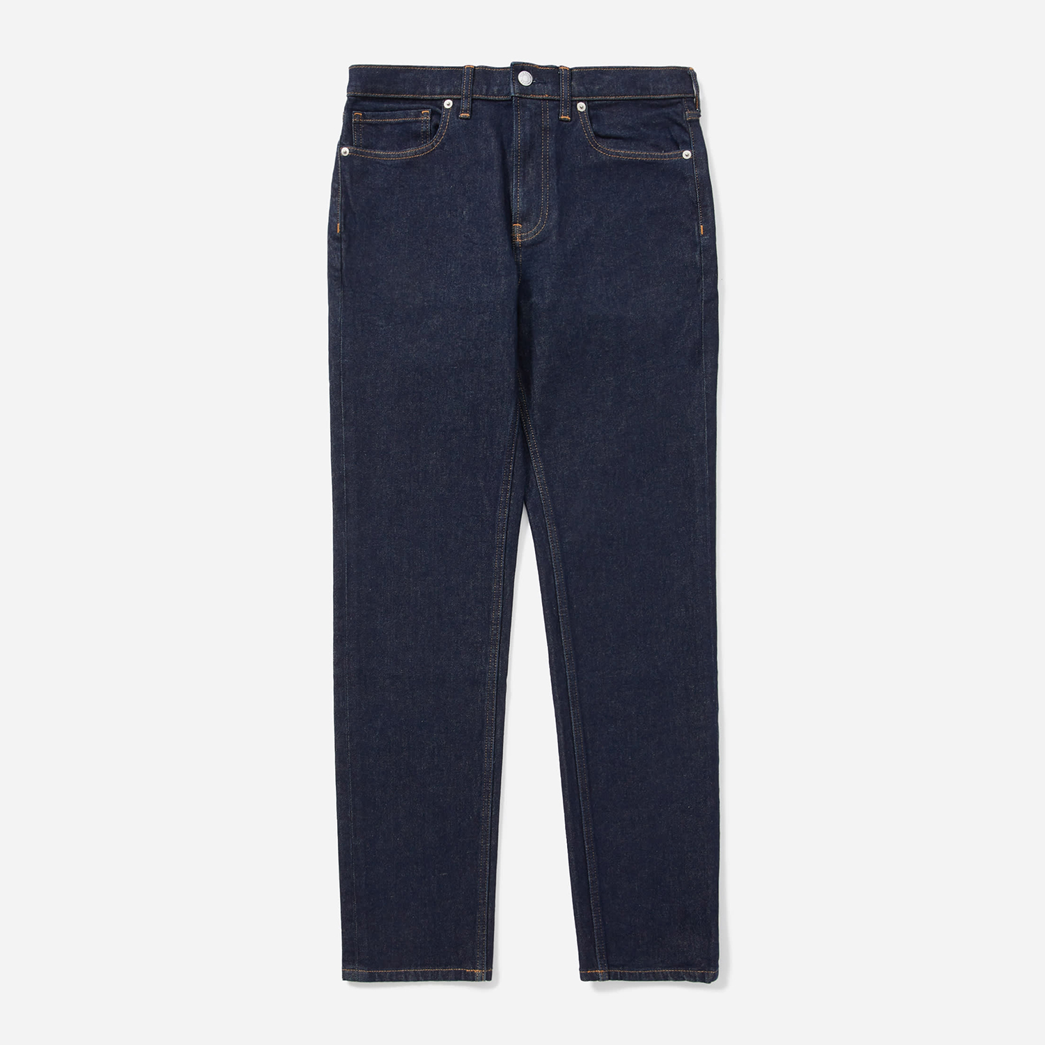 Mens Relaxed Taper Fit Performance Jean Indigo