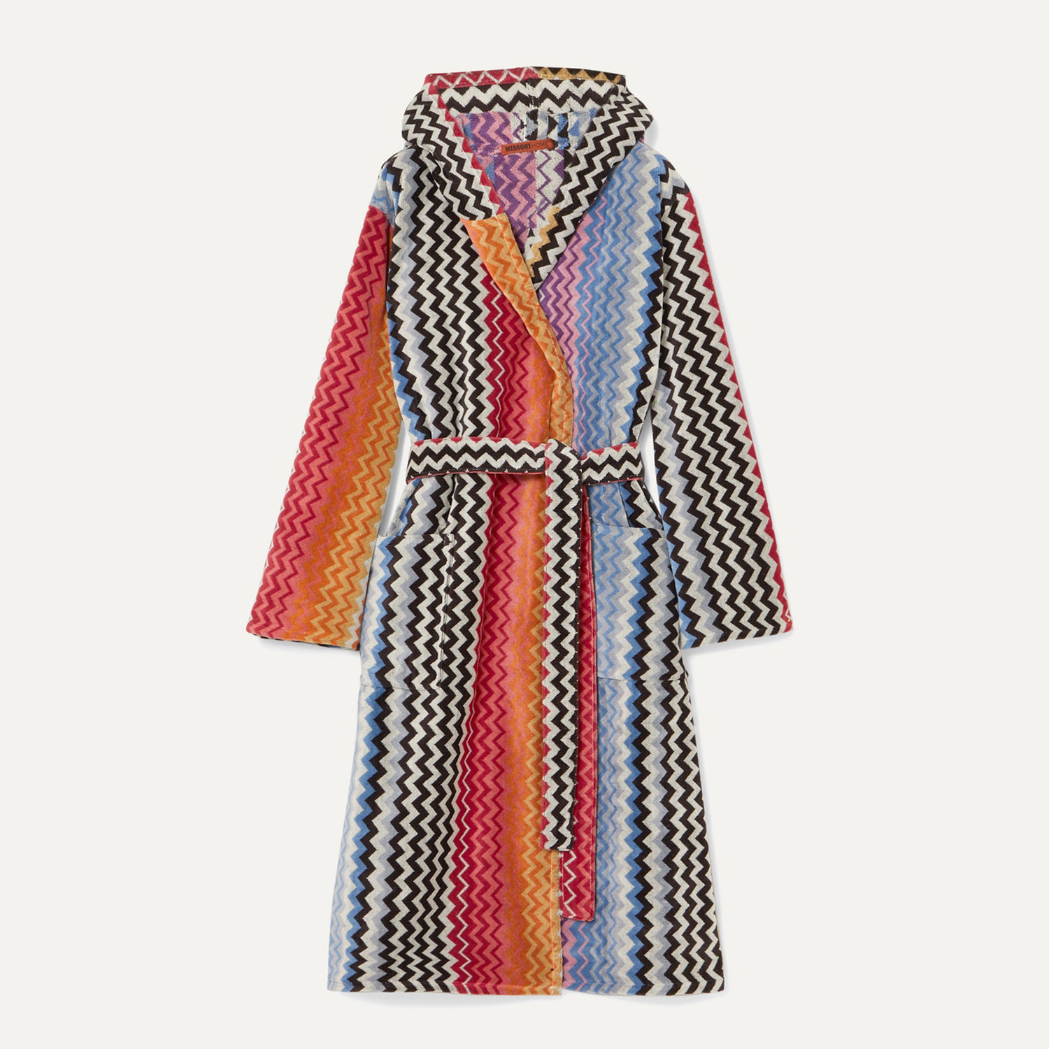 Missoni Home Stan hooded cotton-terry robe