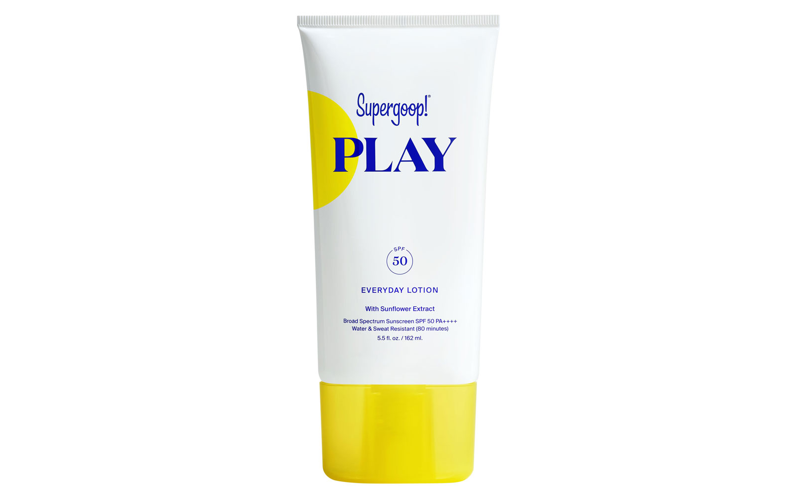 Supergoop sunscreen tube