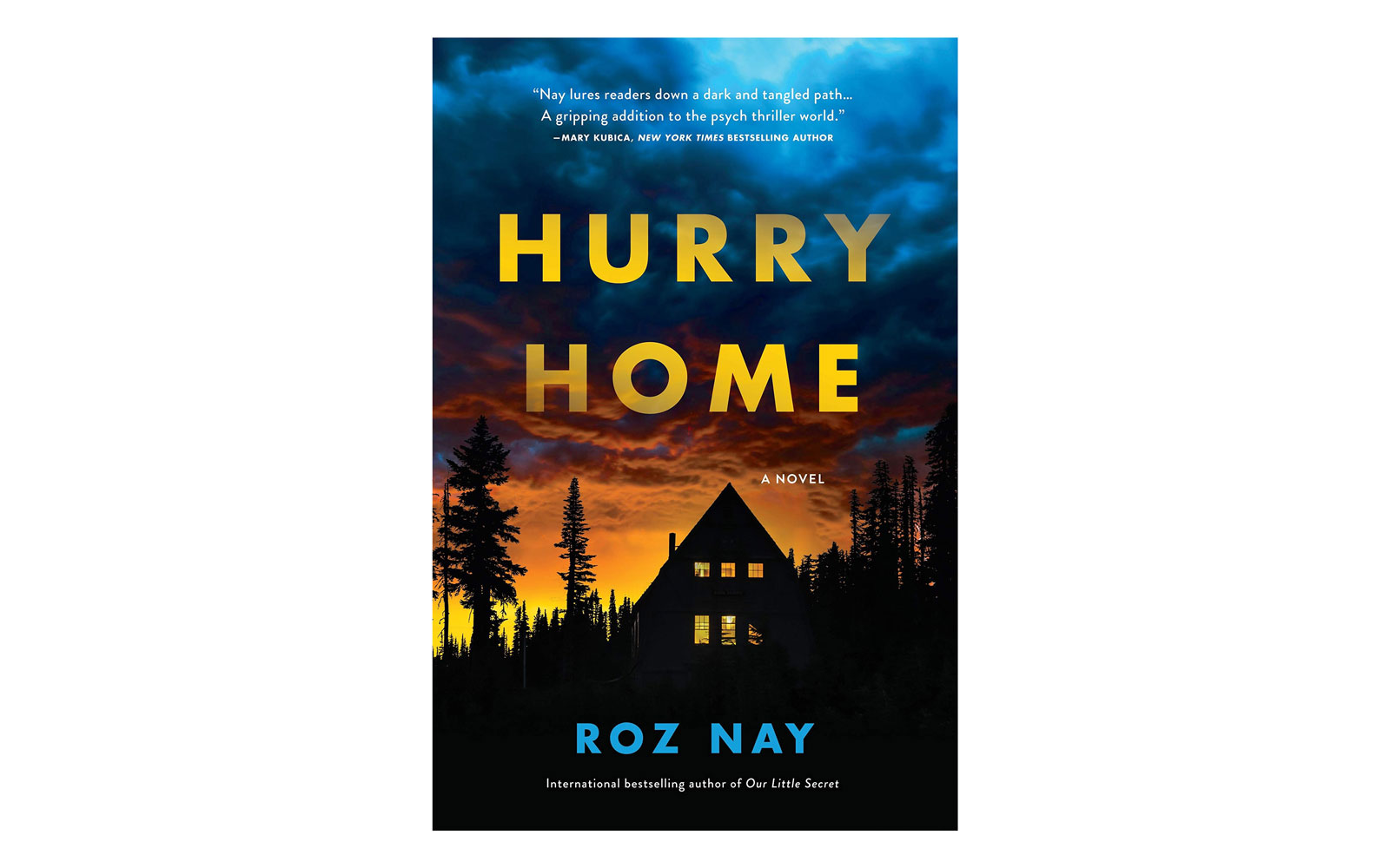 15.  Hurry Home  by Roz Nay