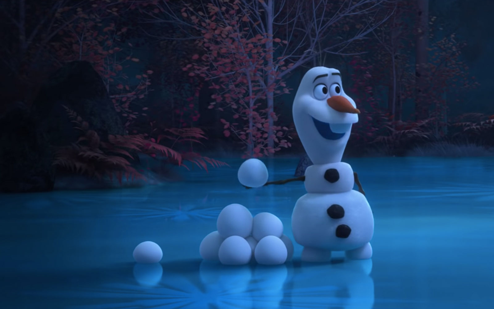 """""""Fun With Snow"""" At Home With Olaf"""