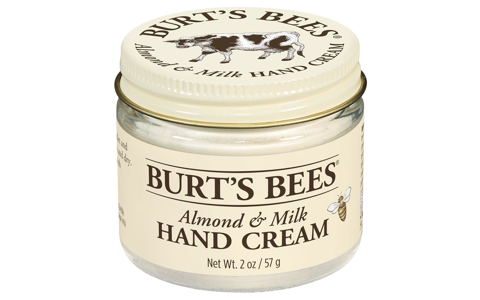 Jar of hand cream