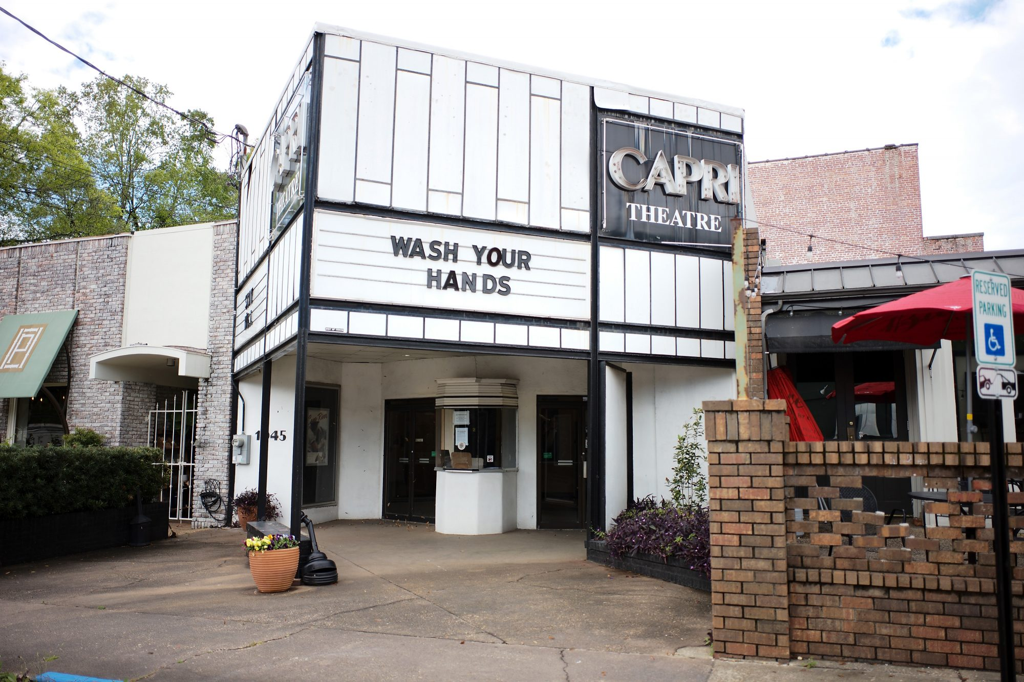 The Capri Theatre in Old Cloverdale