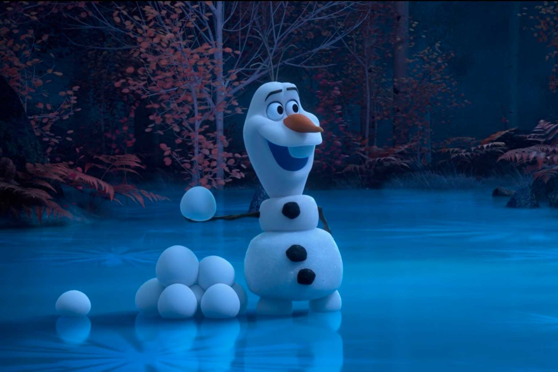 Disney's character Olaf