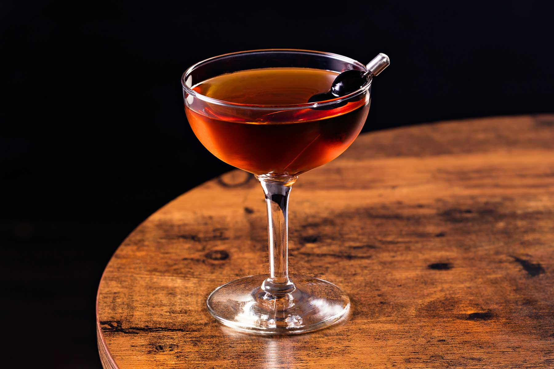 Refreshing Bourbon Manhattan Cocktail
