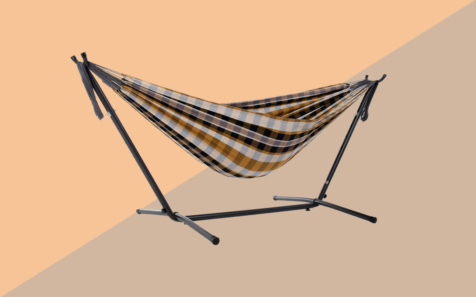 Beachcrest Home Dorinda Double Classic Hammock with Stand Tout