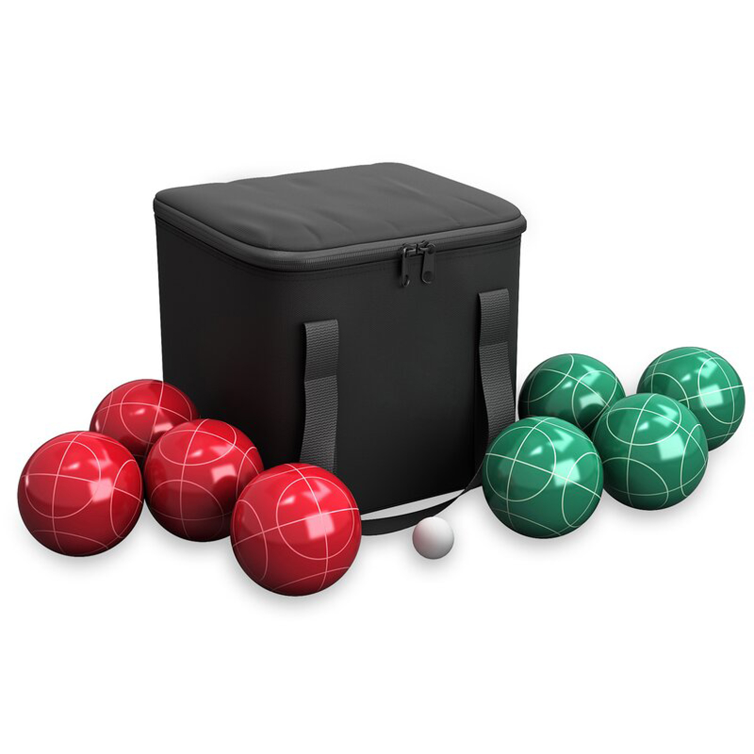 Wayfair Games 89mm Bocce with Carrying Case