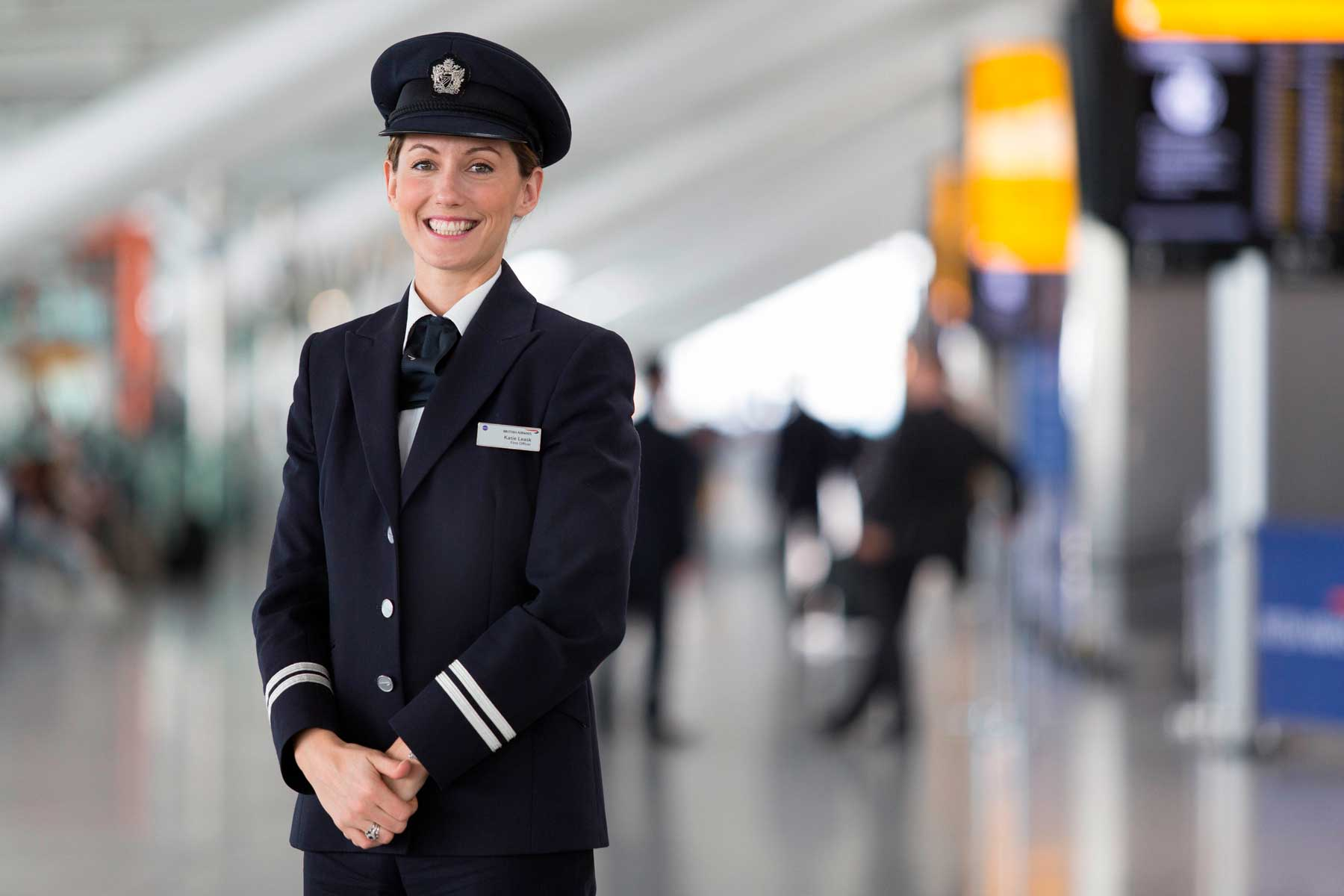 British Airways First Officer, Katie Leask