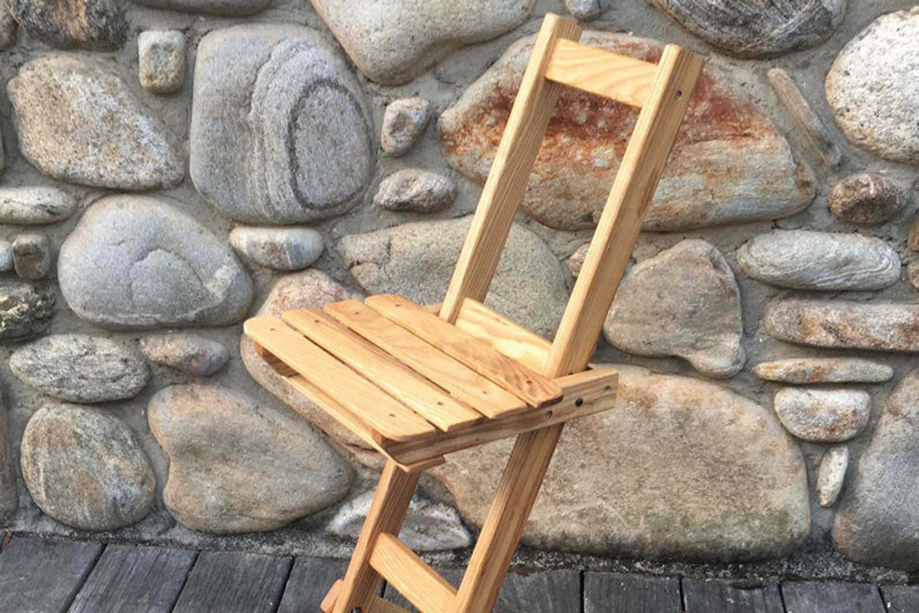 Looking Glass Perch foldable wooden stargazing chair