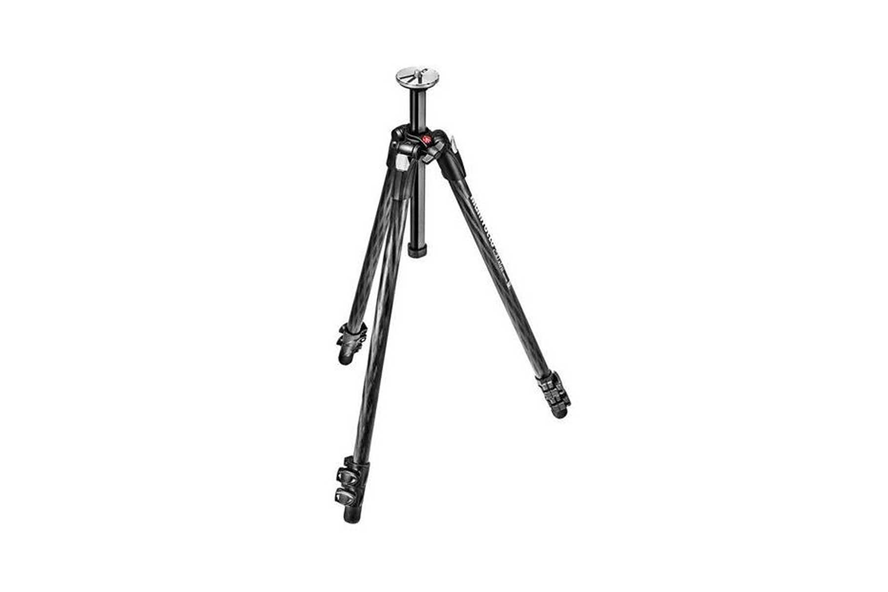 Manfrotto 290 Xtra 3-Section Carbon Fiber Tripod