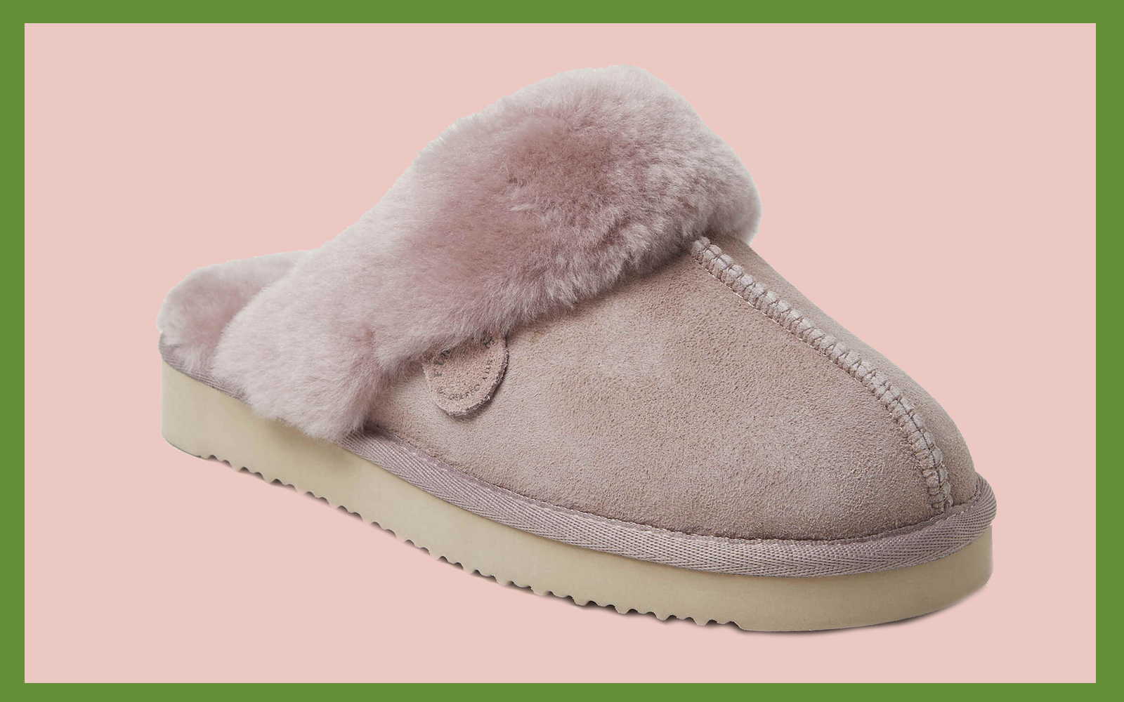 Women's Sydney Water Resistant Genuine Shearling Scuff Slipper