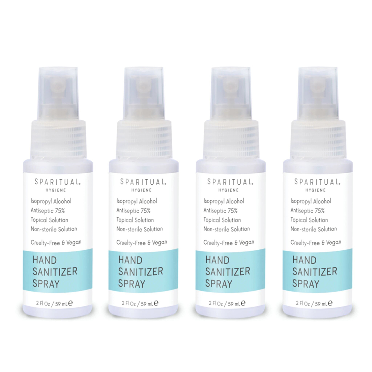 Hand Sanitizer Spray 4-pack