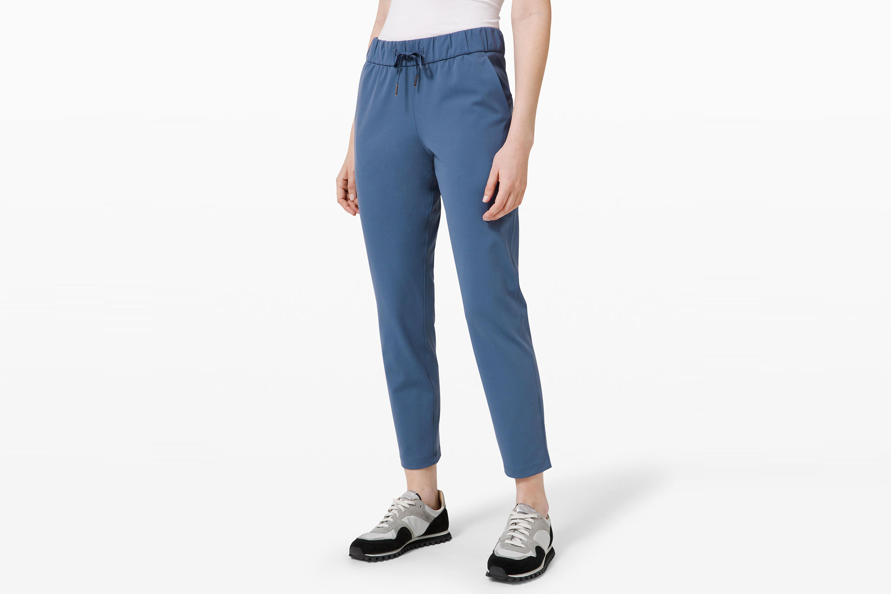 Women's blue track pants