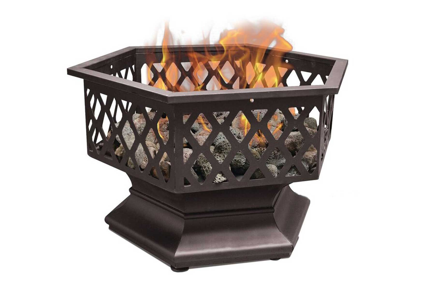Gas Portable Stainless Steel Propane Fire Pit